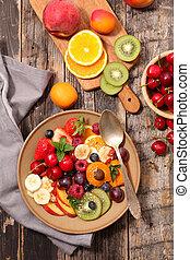 fruit salad for breakfast