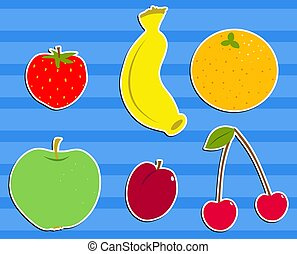 Fruit Salad - Fruit salad design.