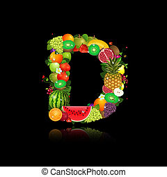 fruit., sappig, brief, d