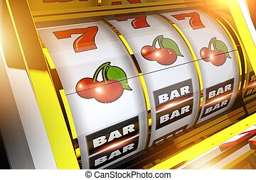 Fruit Slot Machine Concept