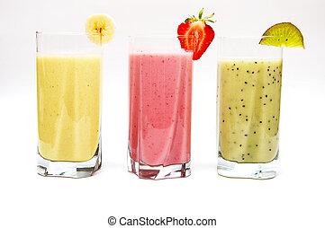 fruit, smoothies
