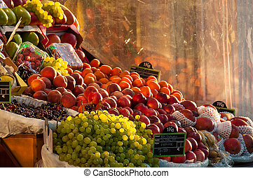 Fruit stall - Grocery fruit stall