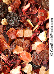 Fruit tea ingredients