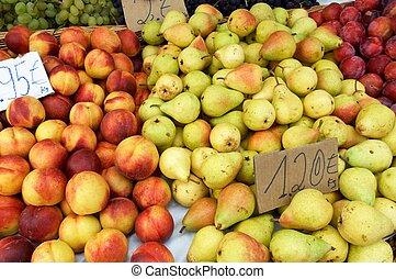 fruit, vendre