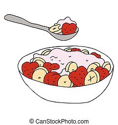 Fruit Yogurt Bowl