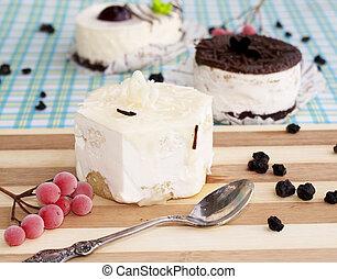 fruitcake., dulce, postre