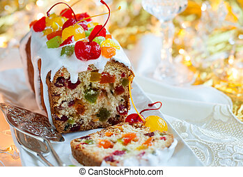 fruitcake, navidad
