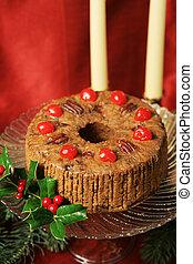 fruitcake, vida, ainda, natal