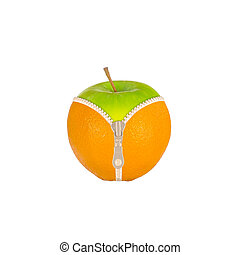 Fruits and diet against cellulite