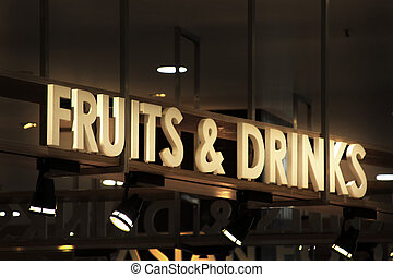 Fruits And Drinks Information Guide, trade area