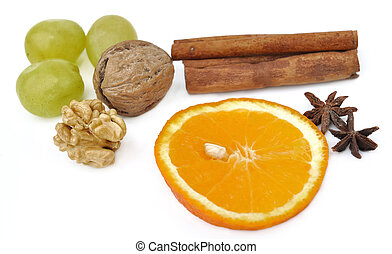 fruits and spices for celebration