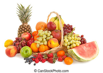 fruits, arrangement