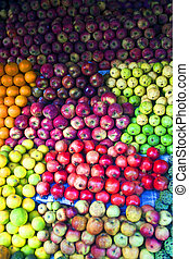 Fruits for sale on a market