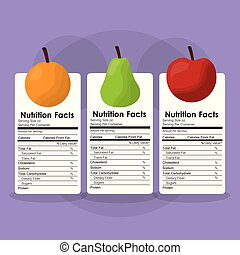 fruits healthy food nutrition facts label benefits
