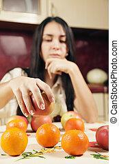 Fruits in focus