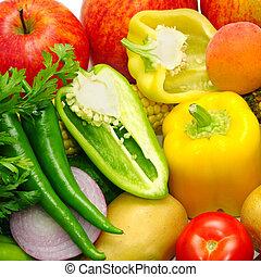 fruits, légumes