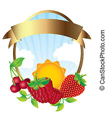 fruits label