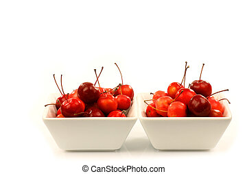 Malus Pumila (crab apple) - fruits of the Malus Pumila (crab...