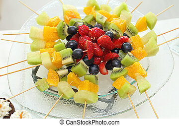Fruits on Sticks