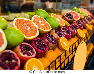 Fruits on the counter