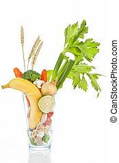 fruits, organique, vegetable.