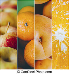 Fruits Photo Collage