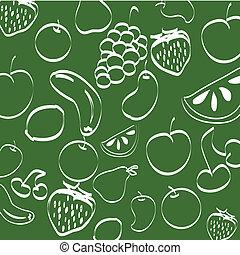 fruits, plano de fondo
