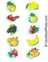 Fruits. - Various fruits.