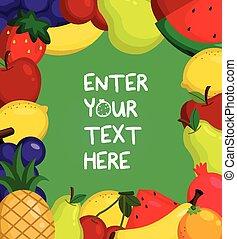 Fruity Card