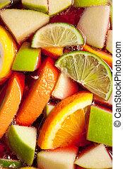 fruity, casalingo, sangria, rosso, spagnolo