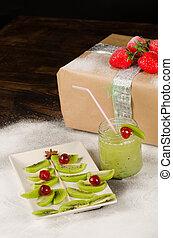 Fruity Christmas dessert