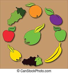 Fruity circle