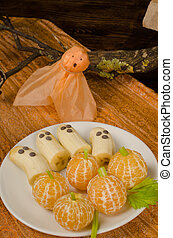 A fruity Halloween dish made for children