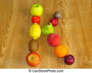 fruity, k