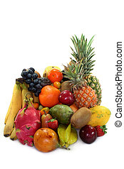 frukt, blanda