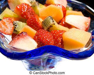 frukt färsk sallad