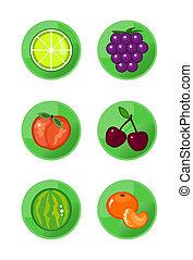 frukt, ikonen