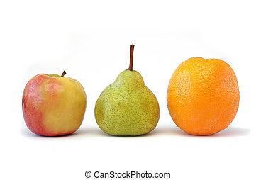 frukt, serie, 2