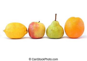 frukt, serie