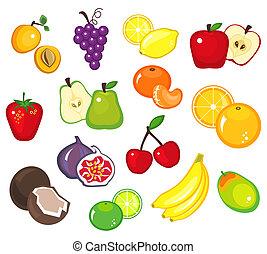 frukter, del, 1