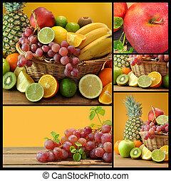 frukter, komposition