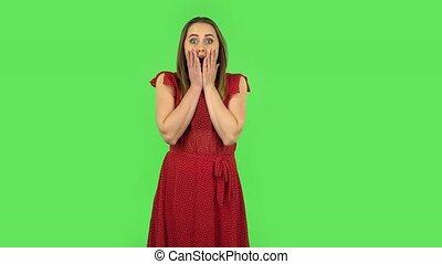 frustré, mon, rouges, proverbe, robe, oh, tendre, dieu, ...