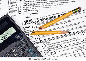 frustratie, indiening, belastingen