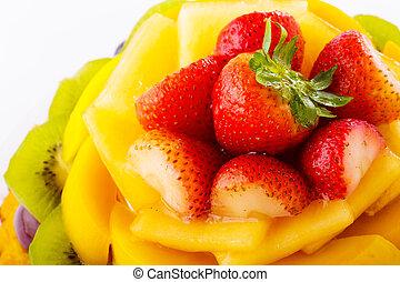 fruta agria, cicatrizarse