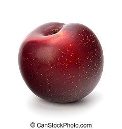 fruta ameixa vermelha