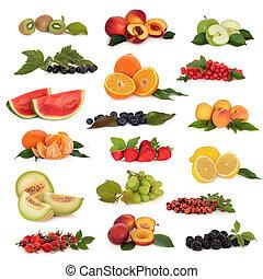 fruta, cobrança