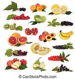 fruta, colección