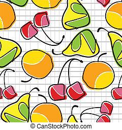 fruta, coloridos