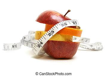 fruta, condición física