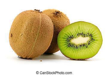 fruta del kiwi, aislado